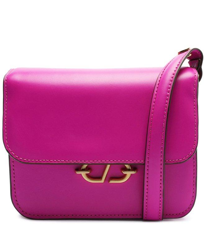 Bolsa Tiracolo Mini Couro Marge Pink