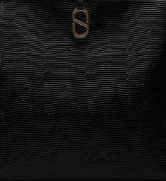 Shopping Bag A to Z Black