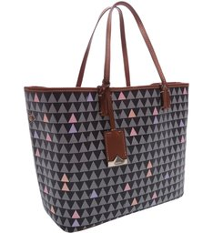 Shopping Bag Nina Triangle Black