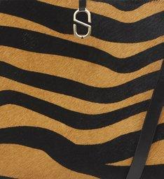 """Shopping Bag """"A to Z"""" Zebra Soft"""
