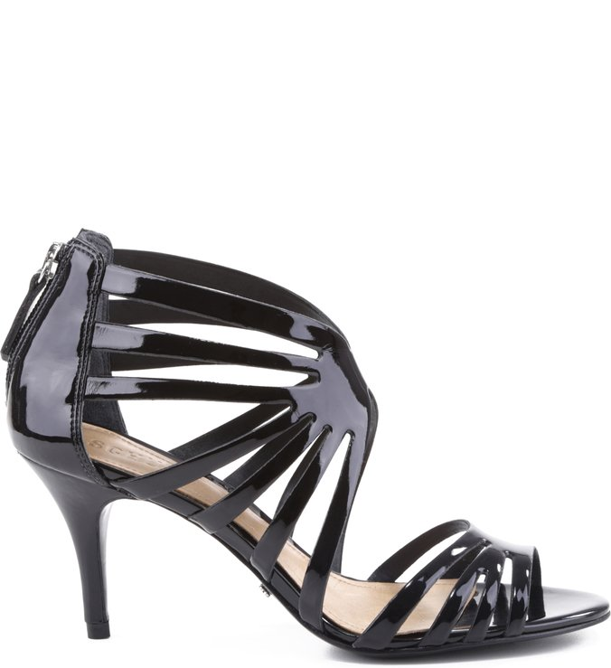 Sandália Multi Straps Varnish Black