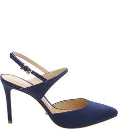 Scarpin Slingback Dress Blue