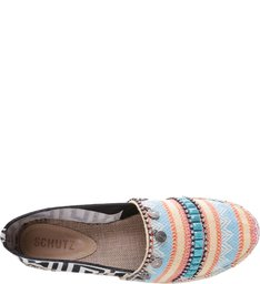 Espadrille Art Deco Black