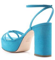 Sandália Meia Pata Nobuck Blue
