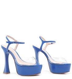 Sandália Meia Pata Bold Royal Blue