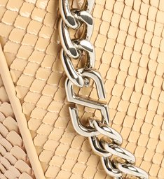 Bolsa Tiracolo Pequena Emmy Snake Bege