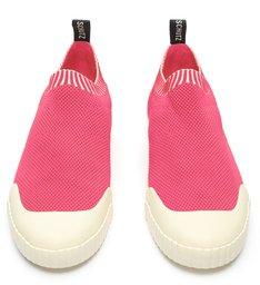 Tênis Smash Knit Pink