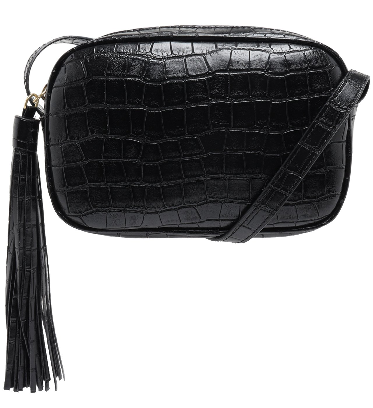Crossbody Kate Croco Black | Schutz