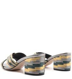 Mule Textures Metallic Silver & Gold
