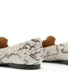 Loafer Python Stone