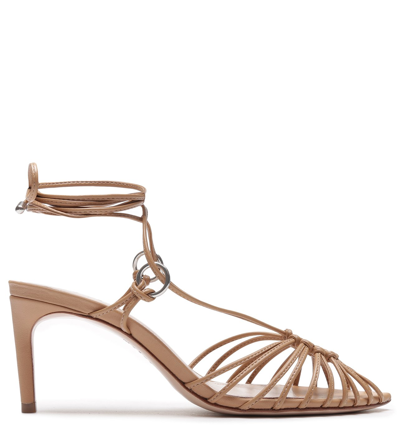 Sandália Lace-Up Strings Honey | Schutz