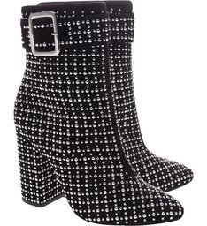 Glam Boot Crystal Black