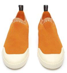 Tênis Smash Knit Tangerine