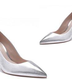 Scarpin Classic Silver