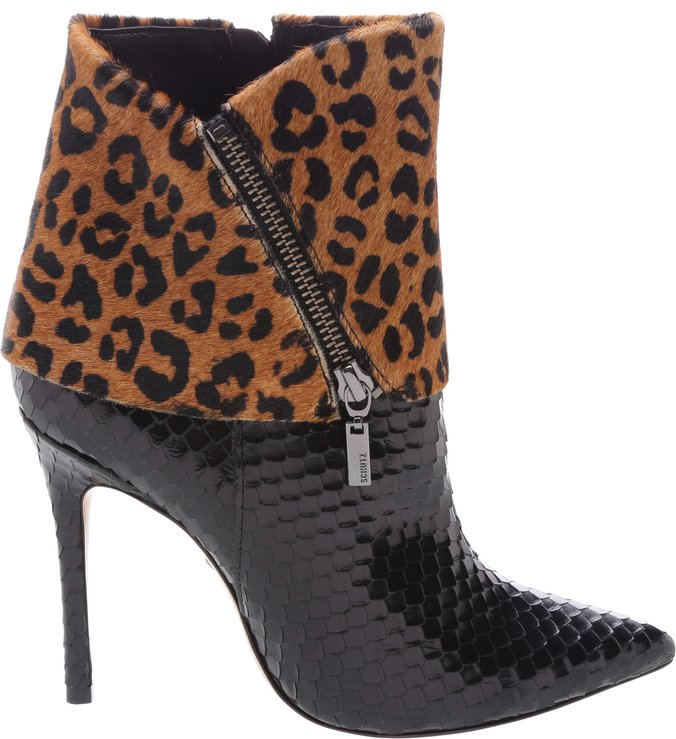 Ankle Boot Cape Animal Print