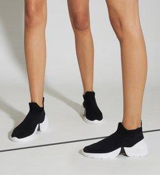 Tênis The Duo Knit Black