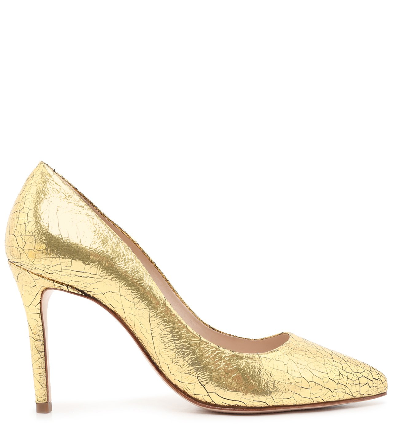 Scarpin Classic Metallic Ouro | Schutz