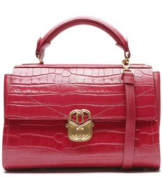 Satchel Penelope Croco Red