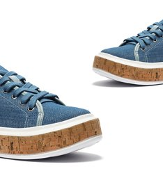 Tênis It Schutz Cortiça Jeans