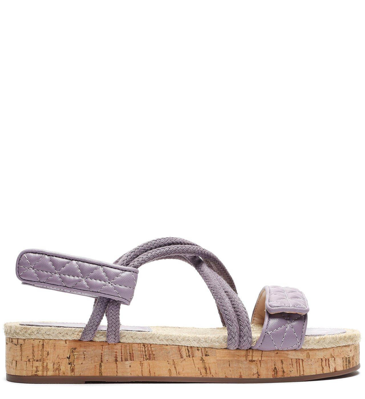 Sporty Sandal Cortiça Violet | Schutz