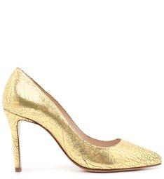 Scarpin Classic Metallic Ouro