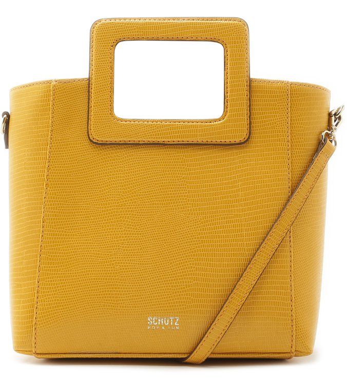 Mini Tote Poly Yellow | Schutz