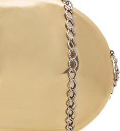 Clutch Metallic Lisa Ouro