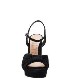 Sandália Block Heel Bow Black