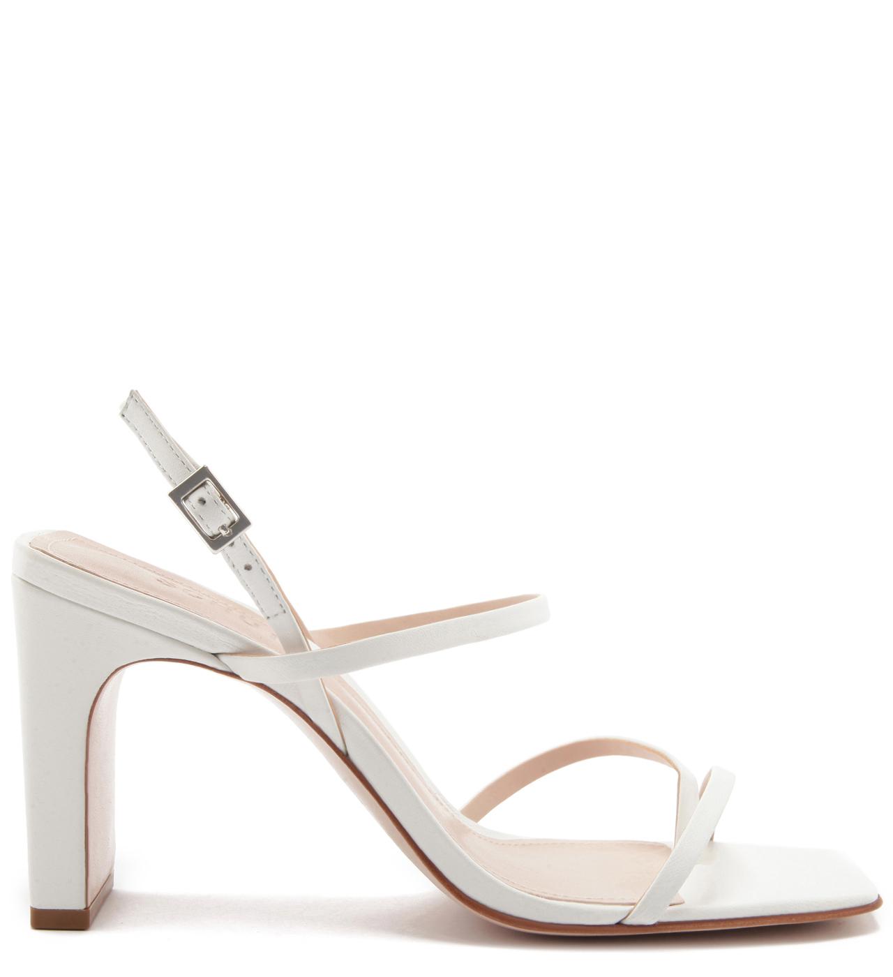 Sandália Strings Salto White | Schutz