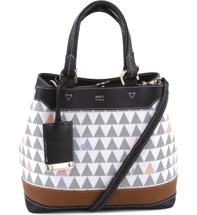 Bucket Bag Emma Triangle Pearl | Schutz