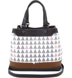 Bucket Bag Emma Triangle Pearl
