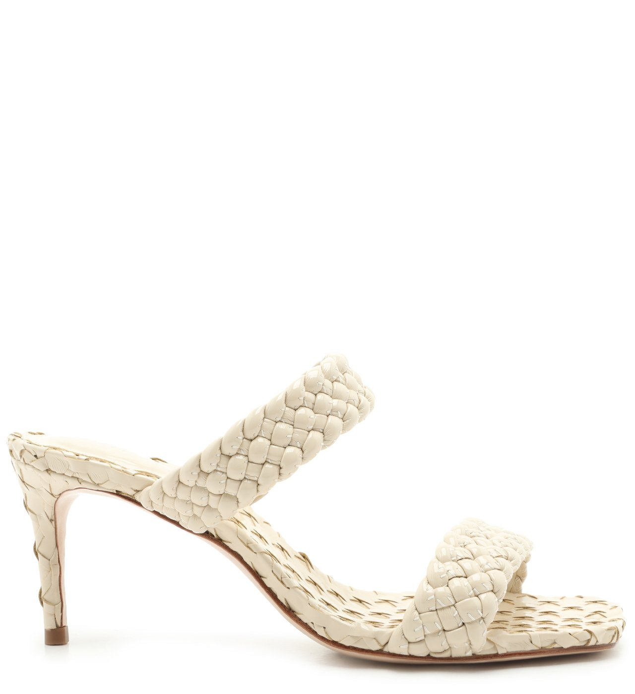 Sandália Mule Braid White | Schutz