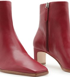 Bota New Minimal Short Red