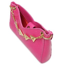 Bolsa Tiracolo Pequena Baguette Luma Pink
