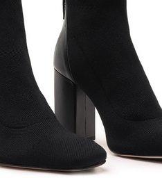 Sock Boot Knit Salto Black