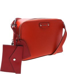 Crossbody Wallet Charm Laura Red