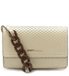 CROSSBODY SAM SNAKE WHITE