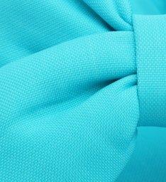 Sandália Rasteira Nylon Neon Azul
