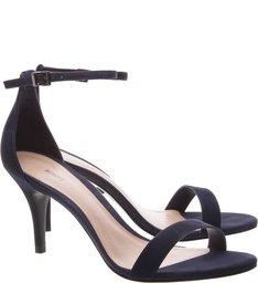 Sandália Gisele Mid Heel Blue