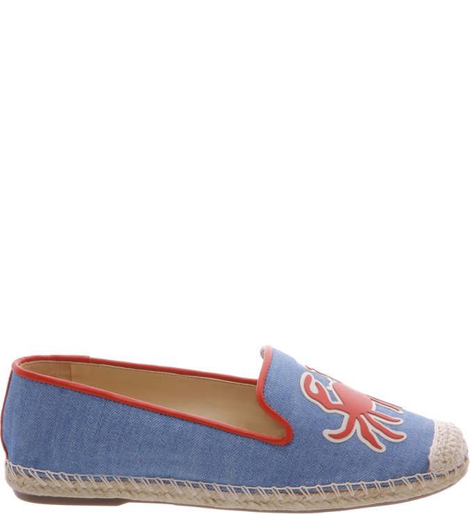 Espadrille Summer Embroided Light Jeans | Schutz