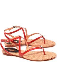 Sandália Minimal Vermelha