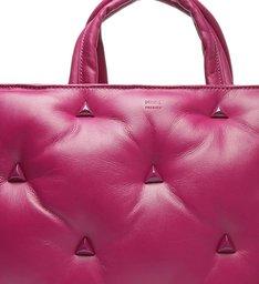 Bolsa Tote Grande Couro 944 Violet Pink