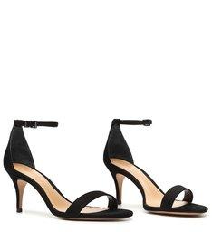 Sandália Gisele Mid Heel Black