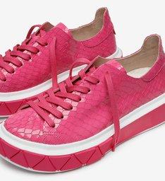 Tênis It Schutz Snake Pink
