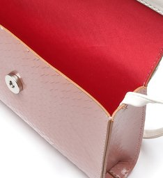 CROSSBODY JENY DUO SNAKE ROSE