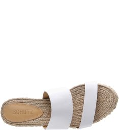 Slide Corda Couro White