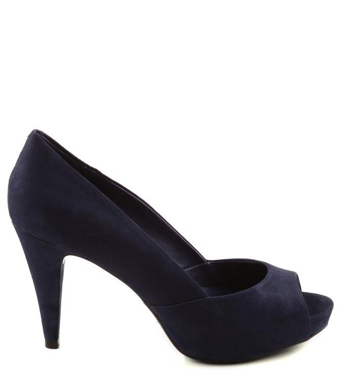 Peep Toe Classic Dark Blue
