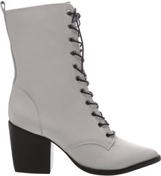 Lace-Up Combat Boots White