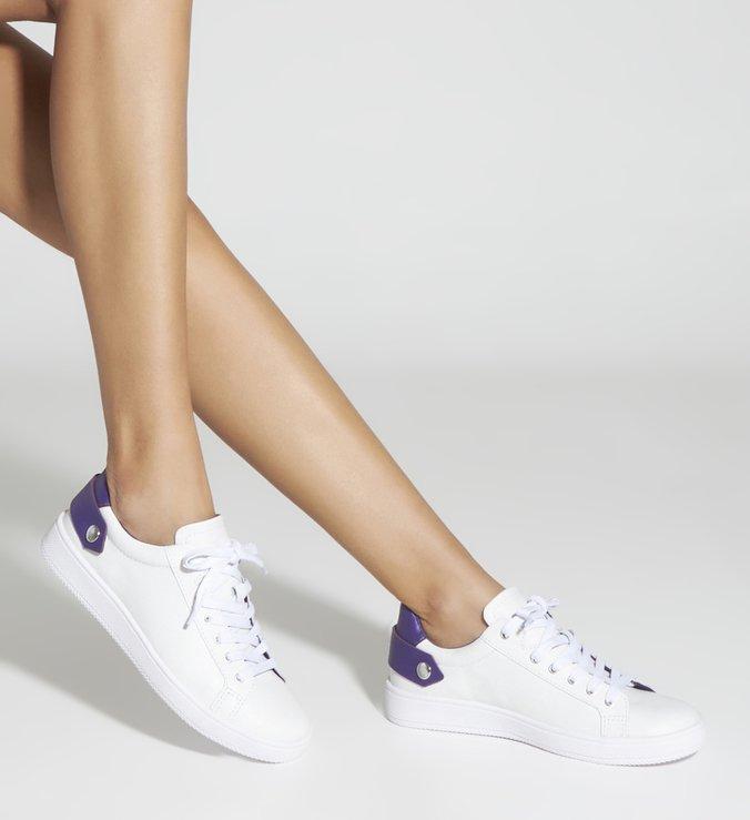 Tênis New Ultralight White & Purple