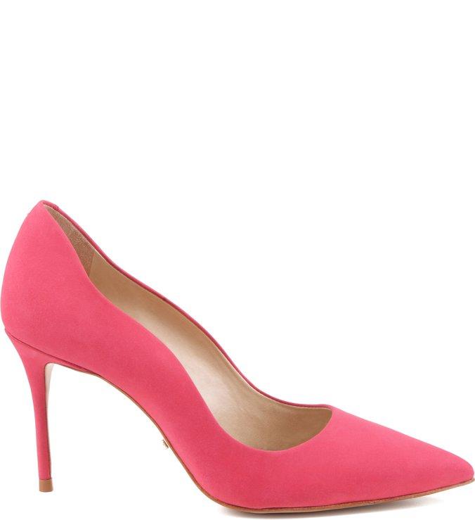 Scarpin Curves Pink Flamingo